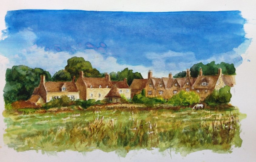 The Cotswolds in August